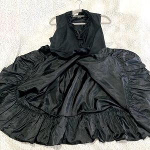 Stella Black wrap up Evening Dress
